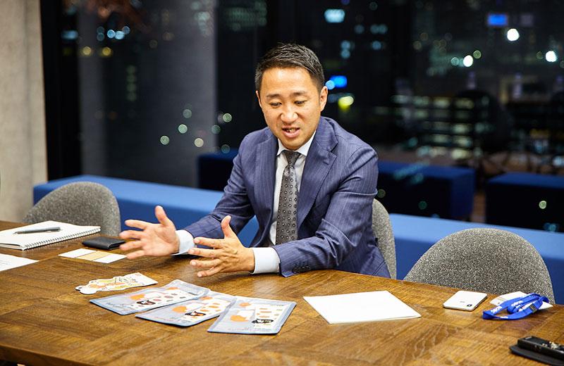 代表取締役CEO 小野澤秀人